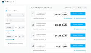 FinCompare Vergleichsportal für KMU und Selbständige: Jetzt kostenloses FinCompare Angebot einholen (hier klicken)!